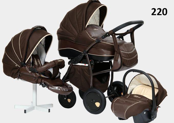 Универсальная коляска 3 в 1 Tutis Zippy Leather (Тутис Зиппи Лезер)