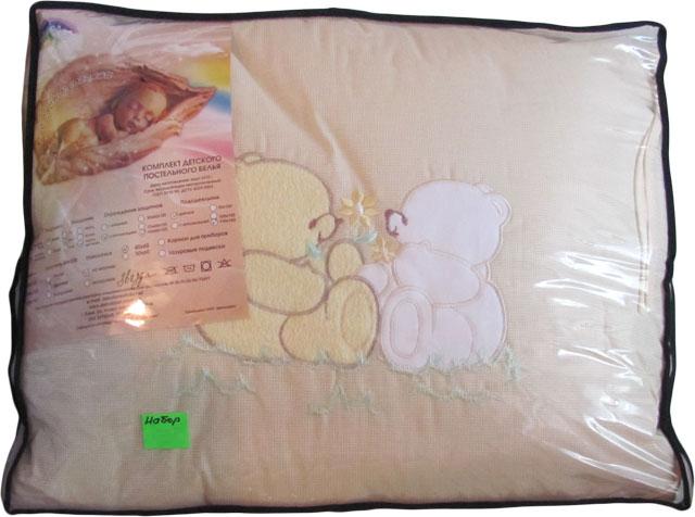 Полный комплект белья Деколорес в кроватку вышивка