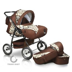 Коляска для двойни Trans Baby Атлант (Транс Беби Атлант)