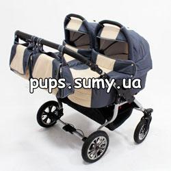 Коляска для двойни Trans Baby Jumper (Транс Беби Джампер)